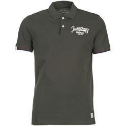 Vêtements Homme Polos manches courtes Jack & Jones COMPANY Noir