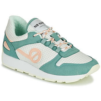 Chaussures Femme Baskets basses No Name CITY OPEN Vert / Rose