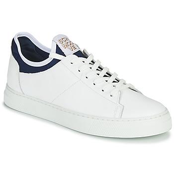 Chaussures Homme Baskets basses Schmoove SPARK NEO Blanc / Bleu