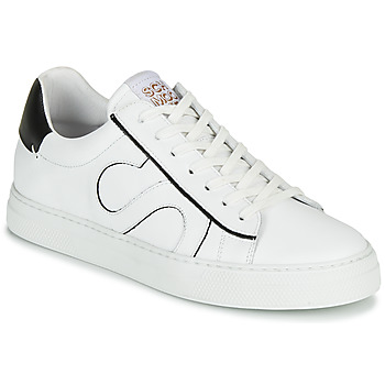 Chaussures Homme Baskets basses Schmoove SPARK MOVE Blanc / Noir