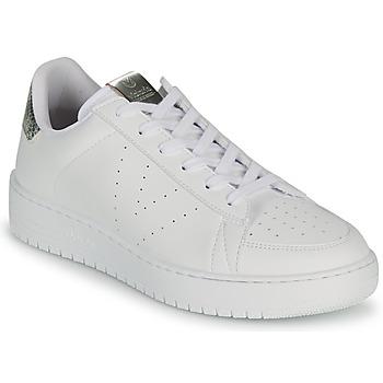 Chaussures Femme Baskets basses Victoria SIEMPRE VEGANA META Blanc