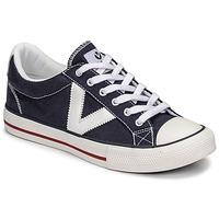 Chaussures Baskets basses Victoria TRIBU LONA CONTRASTE Bleu