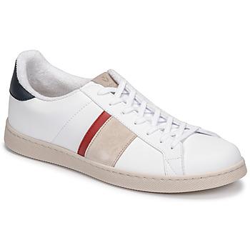 Chaussures Homme Baskets basses Victoria TENIS VEGANA DETALLE Blanc / Bleu