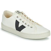 Chaussures Femme Baskets basses Victoria BERLIN LONA GRUESA Blanc / Bleu