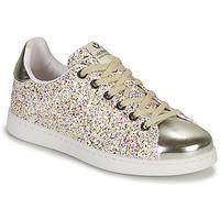 Chaussures Fille Baskets basses Victoria TENIS GLITTER Argenté