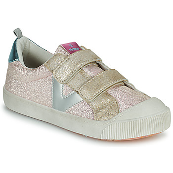 Chaussures Fille Baskets basses Victoria HUELLAS TIRAS Rose