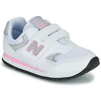Chaussures Fille Baskets basses New Balance 393 Blanc / Rose