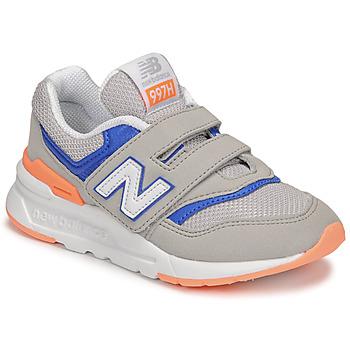 Chaussures Garçon Baskets basses New Balance 997 Gris / Bleu