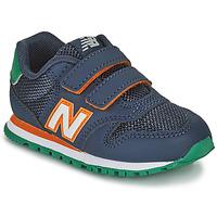 Chaussures Garçon Baskets basses New Balance 500 Bleu / Orange