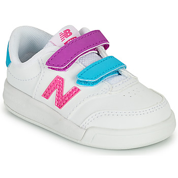 Chaussures Fille Baskets basses New Balance COURT Blanc / Rose