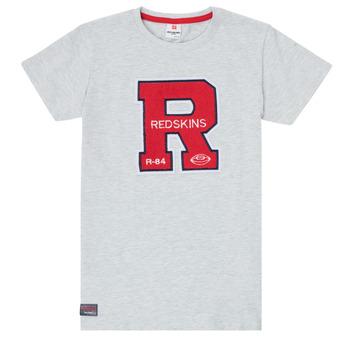 Vêtements Garçon T-shirts manches courtes Redskins TSMC180161-BLENDED-GREY Gris