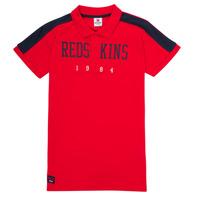 Vêtements Garçon Polos manches courtes Redskins PO180117-RED Rouge