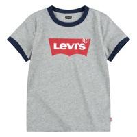 Vêtements Garçon T-shirts manches courtes Levi's BATWING RINGER TEE Gris