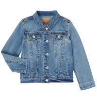 Vêtements Fille Vestes en jean Levi's COPINUI Bleu