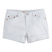 Vêtements Fille Shorts / Bermudas Levi's SOLITAR Blanc
