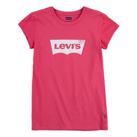 Vêtements Fille T-shirts manches courtes Levi's BATWING TEE SS Rose