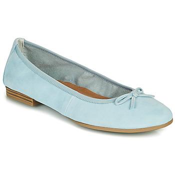 Chaussures Femme Ballerines / babies Tamaris ALENA Bleu