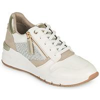 Chaussures Femme Baskets basses Tamaris REA Blanc / Doré
