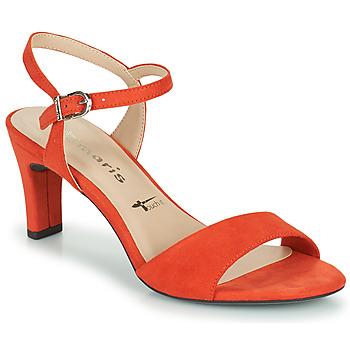 Chaussures Femme Sandales et Nu-pieds Tamaris MELIAH Rouge
