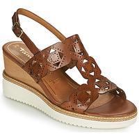 Chaussures Femme Sandales et Nu-pieds Tamaris ALIS Cognac