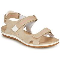 Chaussures Femme Sandales et Nu-pieds Geox D SANDAL VEGA A Beige