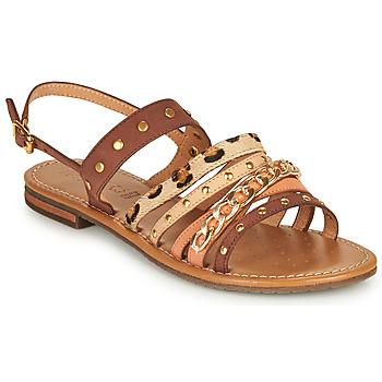 Chaussures Femme Sandales et Nu-pieds Geox D SOZY S I Marron / Beige