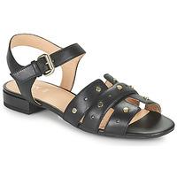 Chaussures Femme Sandales et Nu-pieds Geox D WISTREY SANDALO C Noir