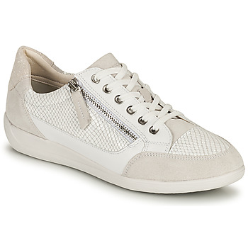 Chaussures Femme Baskets basses Geox D MYRIA A Blanc
