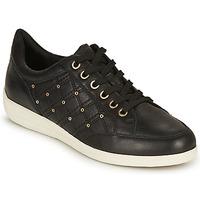 Chaussures Femme Baskets basses Geox D MYRIA H Noir