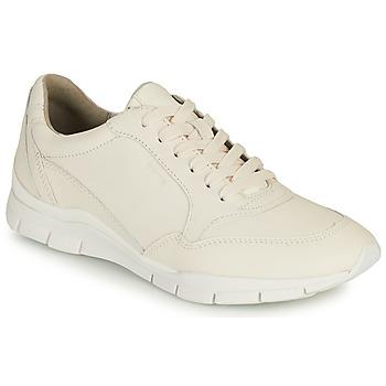 Chaussures Femme Baskets basses Geox D SUKIE A Blanc