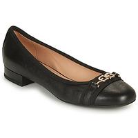 Chaussures Femme Ballerines / babies Geox D WISTREY D Noir