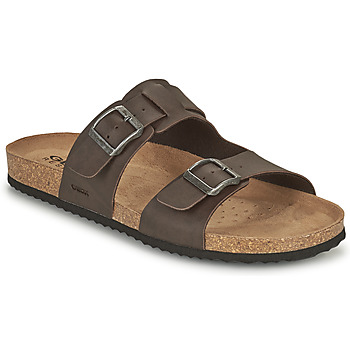 Chaussures Homme Mules Geox U SANDAL GHITA B Marron