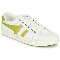 Chaussures Femme Baskets basses Gola TENNIS MARK COX Blanc / Jaune