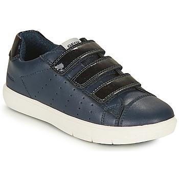 Chaussures Fille Baskets basses Geox SILENEX GIRL Marine