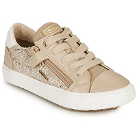 Chaussures Fille Baskets basses Geox KILWI GIRL Beige