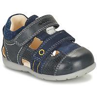 Chaussures Garçon Sandales et Nu-pieds Geox KAYTAN Marine