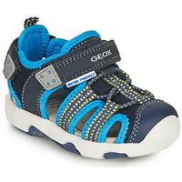 Chaussures Garçon Sandales sport Geox B SANDAL MULTY BOY B Bleu