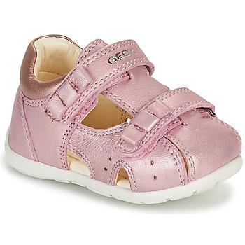 Chaussures Fille Sandales et Nu-pieds Geox KAYTAN Rose