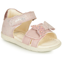 Chaussures Fille Sandales et Nu-pieds Geox SANDAL ALUL GIRL Rose