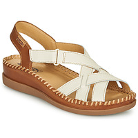 Chaussures Femme Sandales et Nu-pieds Pikolinos CADAQUES W8K Blanc / Marron
