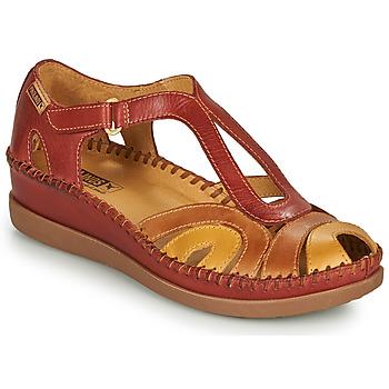 Chaussures Femme Sandales et Nu-pieds Pikolinos CADAQUES W8K Rouge /Beige