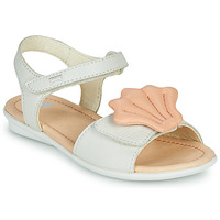 Chaussures Fille Sandales et Nu-pieds Camper TWINS Rose / Blanc