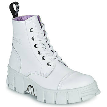 Chaussures Boots New Rock M-WALL005-C1 Blanc