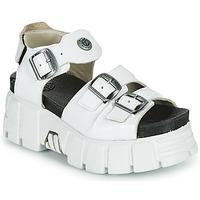 Chaussures Femme Sandales et Nu-pieds New Rock M-BIOS101-C3 Blanc
