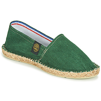 Chaussures Espadrilles Art of Soule LINEN Vert