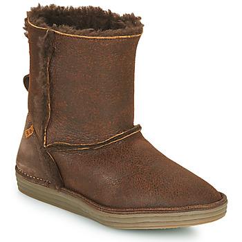 Chaussures Femme Boots El Naturalista LUX Marron
