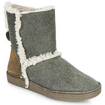 Chaussures Femme Boots El Naturalista LUX Gris / Kaki