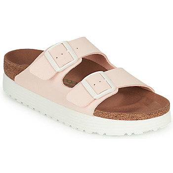Chaussures Femme Mules Papillio ARIZONA GROOVED Rose