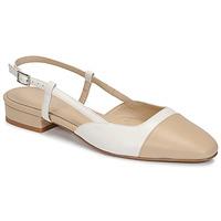 Chaussures Femme Sandales et Nu-pieds Jonak DHAPOU Beige / Blanc