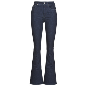 Vêtements Femme Jeans bootcut G-Star Raw 3301 High Flare Wmn Rinsed